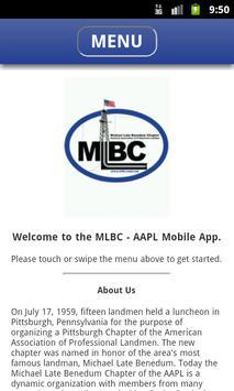 MLBC Mobile App poster
