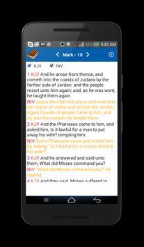 Holy Bible (Multi-Version) apk screenshot