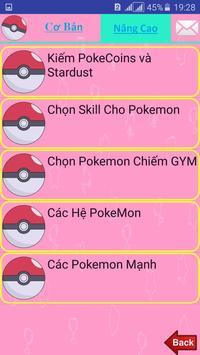Cach Choi Pokemon Go apk screenshot