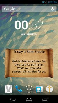 Daily Bible Quotes poster