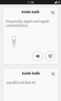 Beo si Kamus Inggris-Indonesia apk screenshot