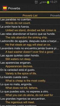 Spanish Proverbs apk screenshot