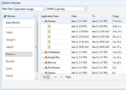Mobilement Device Management apk screenshot