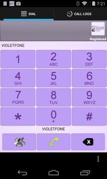 VIOLETFONE DIALER apk screenshot