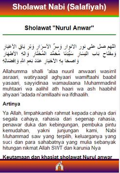 Sholawat Salafiyah & Faidahnya apk screenshot