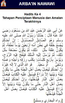 Arba'in Nawawi (40 Hadits) apk screenshot