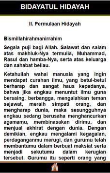 """Bidayatul Hidayah """"Terjemah"""" apk screenshot"""