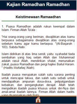Bimbingan Di Bulan Ramadhan apk screenshot