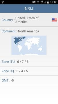 HAM Radio World Prefixes apk screenshot