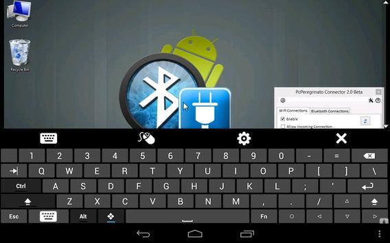 Remote Desktop PC Peregrinato apk screenshot