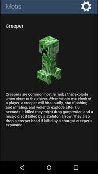 Guidebook: guide for Minecraft apk screenshot
