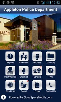 Appleton Police Department poster