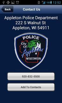 Appleton Police Department apk screenshot