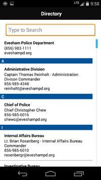 Evesham Twsp Police Department apk screenshot