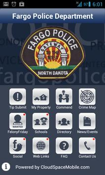 Fargo Police Department poster