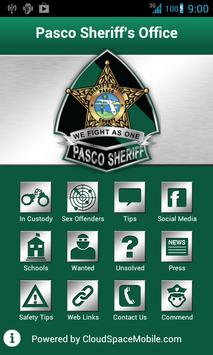 Pasco Sheriff's Office Mobile poster