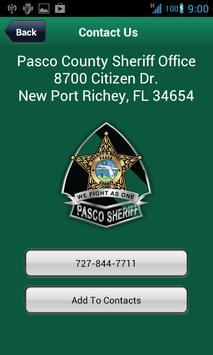 Pasco Sheriff's Office Mobile apk screenshot