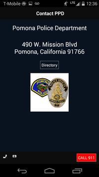 Pomona Police Department apk screenshot