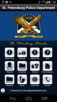 St. Petersburg Police poster