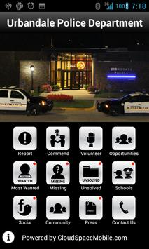 Urbandale Police Department poster