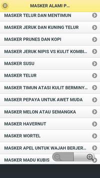 Masker Wajah Alami Lengkap apk screenshot