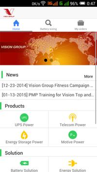 VISION GROUP poster