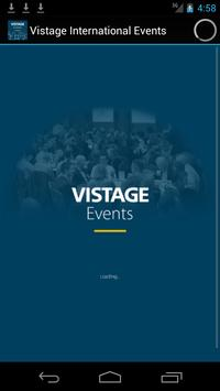 Vistage International Events poster
