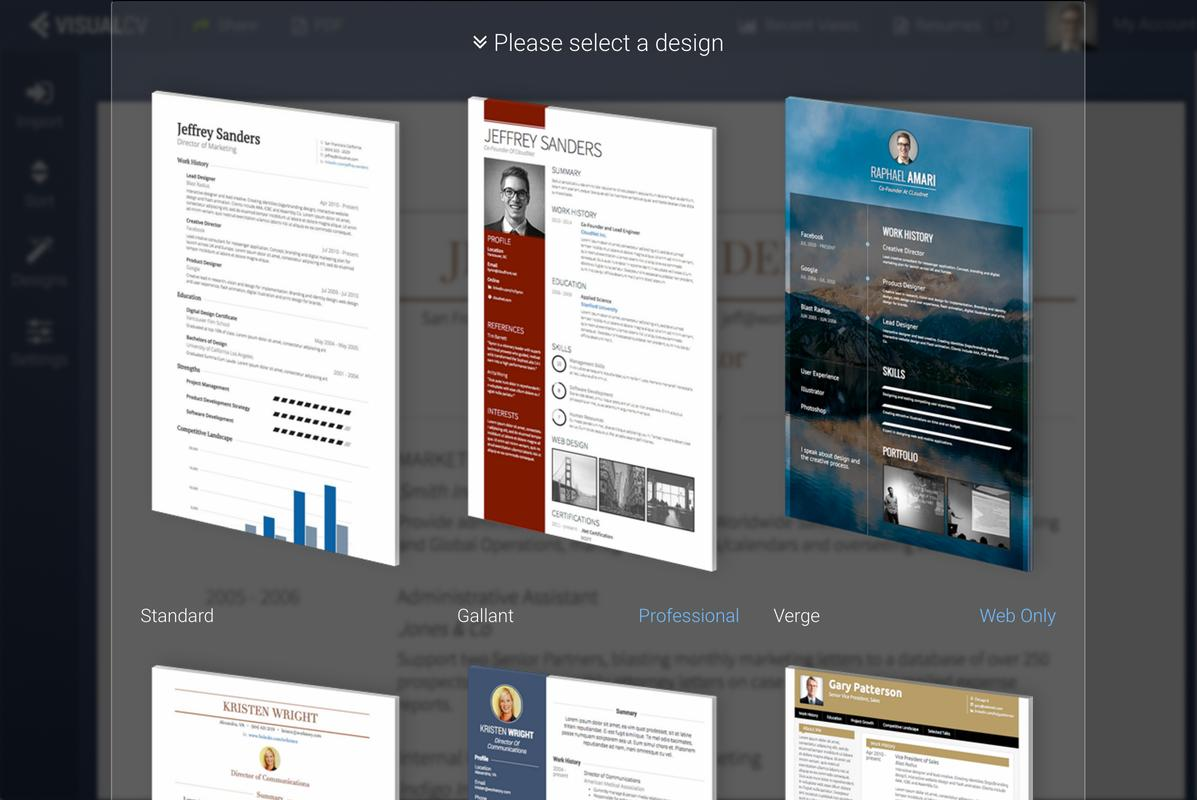 visualcv resume builder apk business app for visualcv resume builder apk screenshot