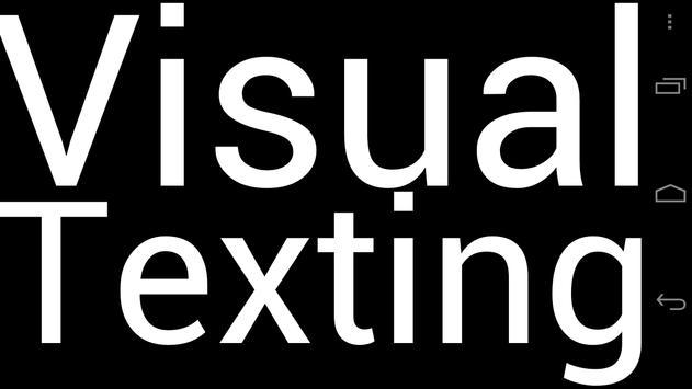 Visual Texting apk screenshot