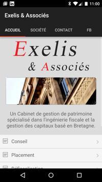 Exelis & Associés poster