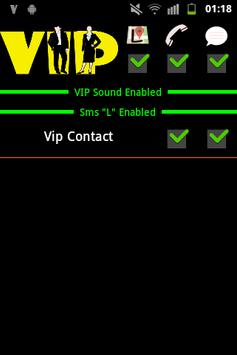 Vip Contacts poster