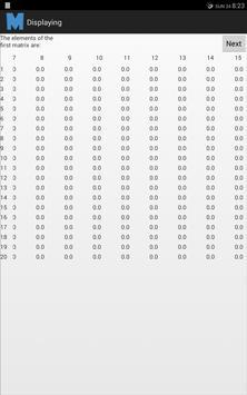 Matrix Operations apk screenshot