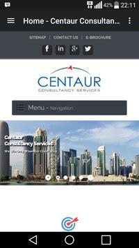 Centaur Gulf poster