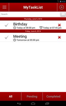 MyTodoList apk screenshot