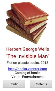 The Invisible Man by H.G.Wells apk screenshot