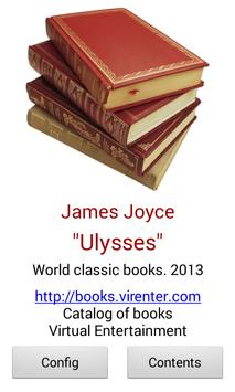 Ulysses by James Joyce apk screenshot