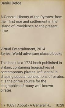 General History of the Pyrates apk screenshot