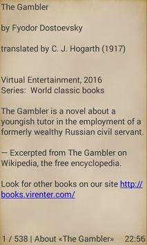 The Gambler apk screenshot