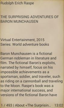 Baron Munchausen apk screenshot