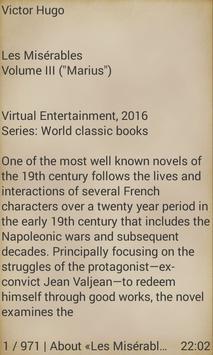 Les Misérables, Volume III apk screenshot