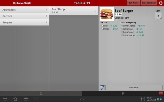 Virtual Waiter Table-Side App apk screenshot