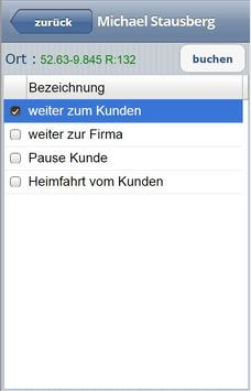 VIRTIC Mobile Zeiterfassung apk screenshot