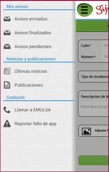 EMULSA. Incidencias y Avisos. apk screenshot