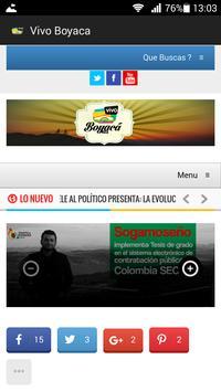 Vivo Boyacá apk screenshot