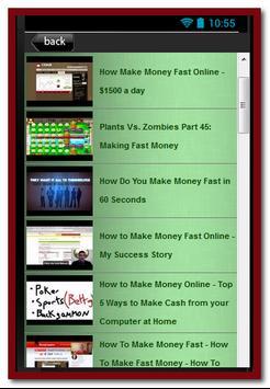 Make Money Quick apk screenshot