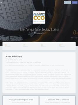 Page Spring Seminar apk screenshot
