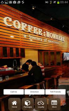 COFFEE:NOWHERE (MY) poster