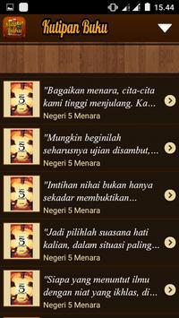 Kutipan Buku Favorit apk screenshot