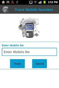 Trace Mobile Number poster