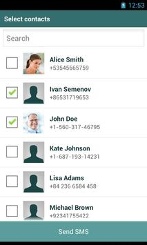 Quick Contacts apk screenshot